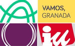 La izquierda concurre en Granada dividida y con multitud de marcas y nombres distintos