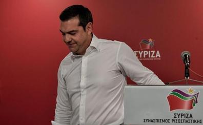 Un Tsipras en horas bajas convoca elecciones anticipadas en Grecia