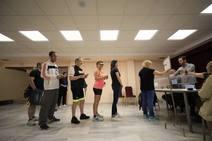 Las imágenes de la jornada electoral en Granada