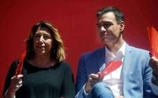 Susana Díaz pide a Sánchez una tregua que incluya las diputaciones