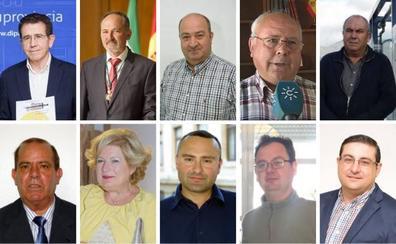 Diez alcaldes de Almería a los que nadie les hace sombra