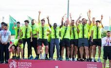 Ignacio Fontes y Dani Rodríguez se proclaman campeones de Europa con el Playas de Castellón