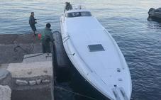 Interceptan un yate de lujo en Motril con tres toneladas de hachís que intentó huir