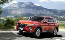 Hyundai Santa Fe, con monitor de punto muerto