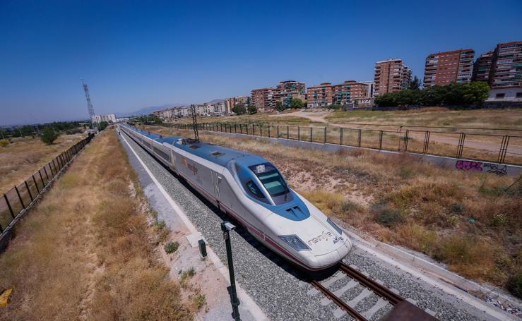 Así llega el Ave a Granada