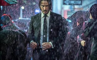 'John Wick 3': Keanu Reeves acaba hasta con el apuntador