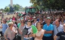 Los agricultores, en guerra contra la caída de precios en origen del aceite de oliva