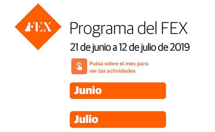 El programa del FEX para 2019