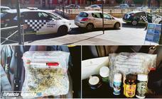 Tres detenidos en la Chana por presunto tráfico de drogas tras ser descubiertos conduciendo temerariamente