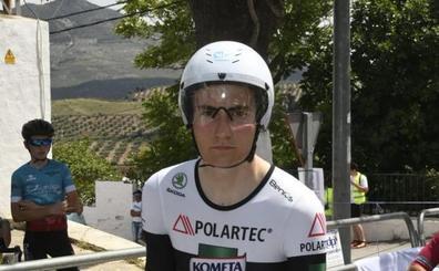 El almuñequero Carlos Rodríguez, campeón de Andalucía junior de ciclismo en ruta
