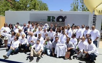 El certamen Bocados acoge en Granada la entrega de chaquetillas en Andalucía de la Guía Michelin