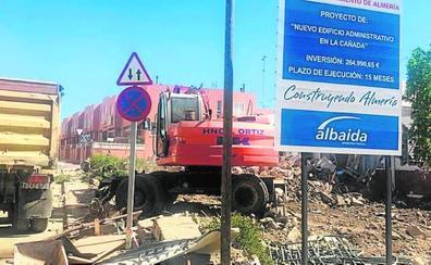 Inician la construcción del nuevo edificio municipal de La Cañada