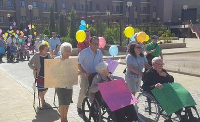 Marcha de los mayores por los derechos de los inmigrantes