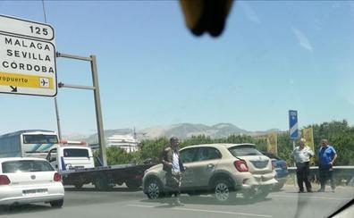 Sábado de accidentes en la Cirvunvalación de Granada