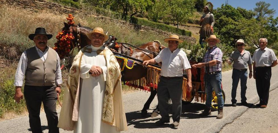 Capileira celebra sus fiestas primaverales en honor a San Isidro