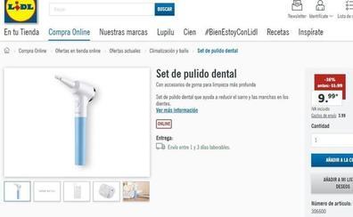 «Puede quemar los dientes»: piden retirar el set de pulido dental de Lidl
