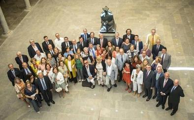 El grupo de Derecho 74-78 se reúne para celebrar los cuarenta años de la finalización de la carrera