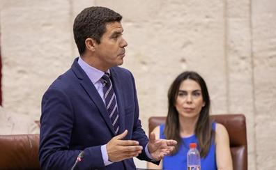 Cs considera el rechazo de Adelante y PSOE a los Presupuestos como «una enmienda a la totalidad a los andaluces»