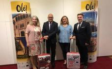 Jaén y Granada buscan turistas en Francia con conexiones aéreas con Burdeos y Nantes