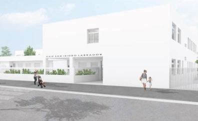 Educación invierte 2,8 millones en la construcción del nuevo colegio de El Chaparral, en Albolote