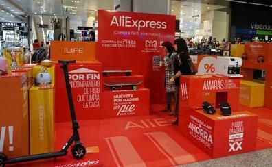 El Corte Inglés venderá a través de AliExpress estas 7 famosas marcas