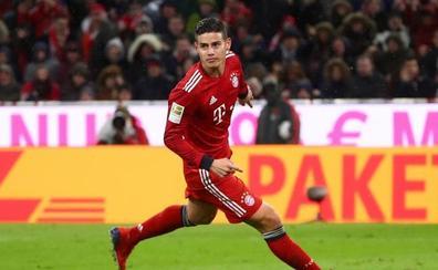 James deja el Bayern y apunta al Nápoles