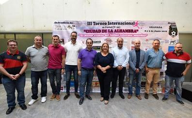 Granada acoge este fin de semana el III Torneo Internacional de Fútbol para veteranos Ciudad de la Alhambra