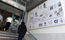 Lienzos creativos para animar a comprar en el mercado de San Francisco