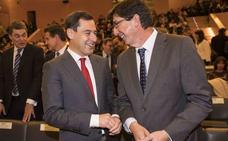 Moreno y Marín presionan a Vox para que pueda debatirse el Presupuesto