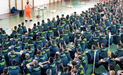 El 061 entrena a la Guardia Civil de Baeza en reanimación cardiopulmonar