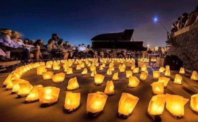 Doscientas velas iluminarán esta noche un concierto de piano en el cementerio de Granada