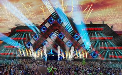 Dreambeach tendrá como escenario un «templo piramidal» de diez pisos