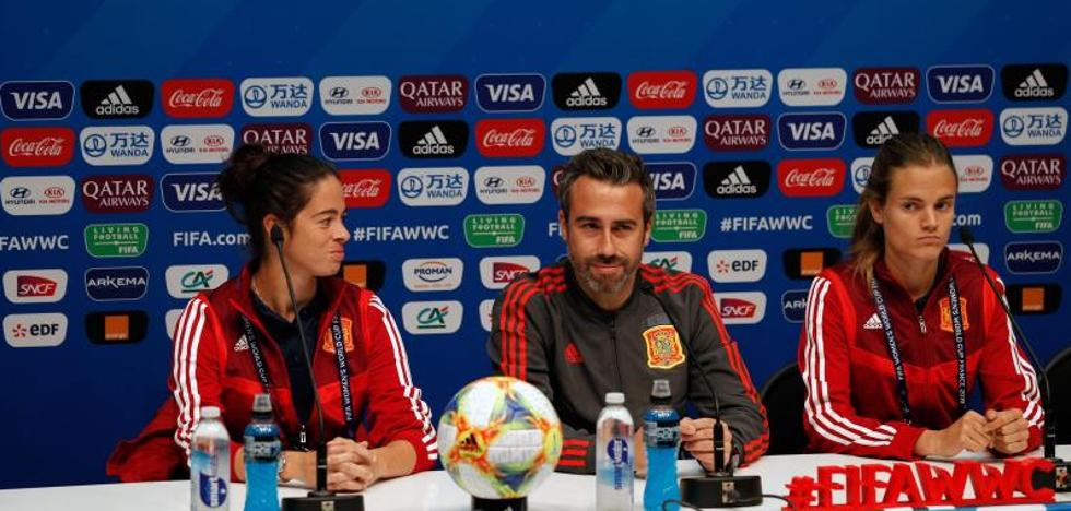 Jorge Vilda: «Nuestras jugadoras van a dar un paso adelante»