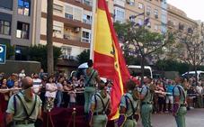 Homenaje de Almería a la bandera de España