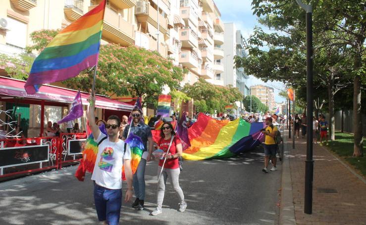 El arcoíris toma las calles de Jaén