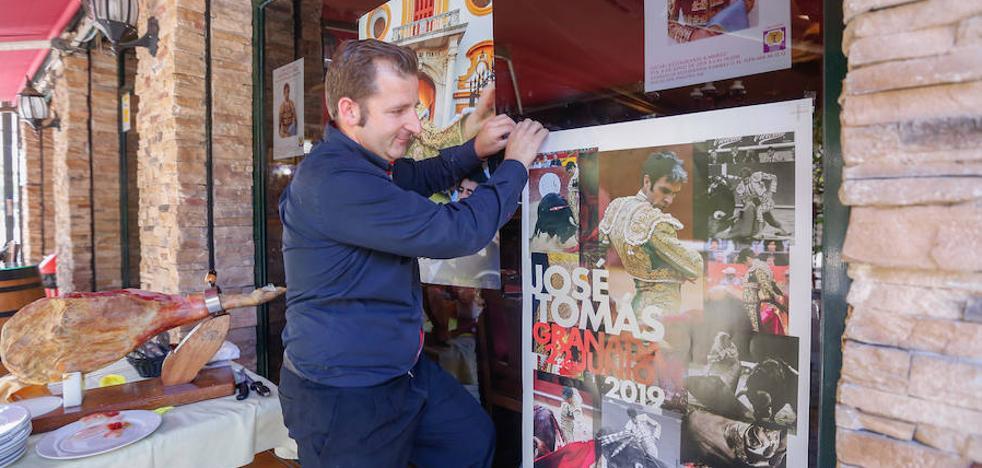 Aviones privados, hoteles completos, prensa extranjera... la fiebre por José Tomás en Granada
