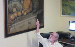 El pintor Miguel Lozano se reencuentra con 'Bodegón' 72 años después