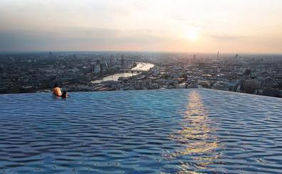 Así es la primera 'piscina infinita' de 360 grados del mundo