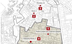 El nivel de ruido en fin de semana en algunas calles del centro de Almería supera en un 60% lo permitido