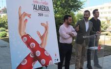 Unas manos 'flamencas', en el cartel de la Feria de Almería 2019