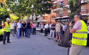 Llamada a la protesta por el pleno funcionamiento del geriátrico de Linares