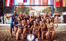 El AM Team Almería de balonmano playa conquista Europa en el EBT Finals