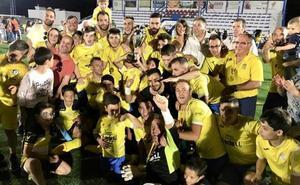 La tercera Copa Subdelegada consecutiva lleva la alegría al CD Navas