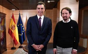 Sánchez e Iglesias acuerdan un Gobierno de «cooperación» sin aclarar en qué consistiría