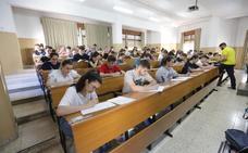 Los estudiantes comienzan la Selectividad en Andalucía
