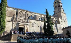Bendiciones de tricornicos en la Catedral de Baeza