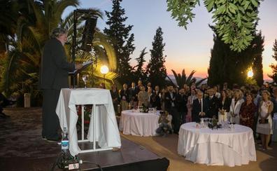 Andrés Cárdenas anima a disfrutar de la próxima feria en el 'Pregón del Casetero'
