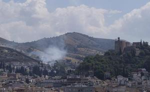 Vuelve a arder una zona de chumberas en San Miguel Alto