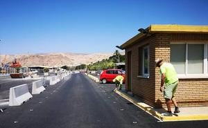 El Puerto de Almería continúa los trabajos de mejora para la avalancha del Paso del Estrecho
