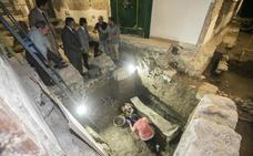 La Granada romana 'emerge' en los bajos del edificio Villamena